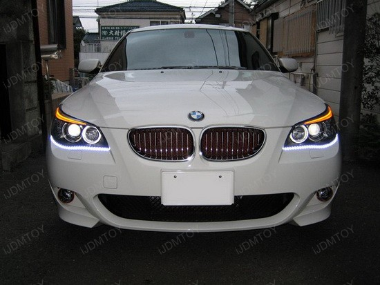 BMW - 535i - DRL - LED - strip - lights - 2